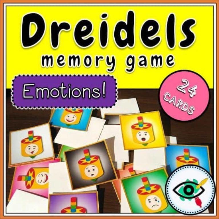holiday-hanukkah-dreidels-emotions-memory-game-title