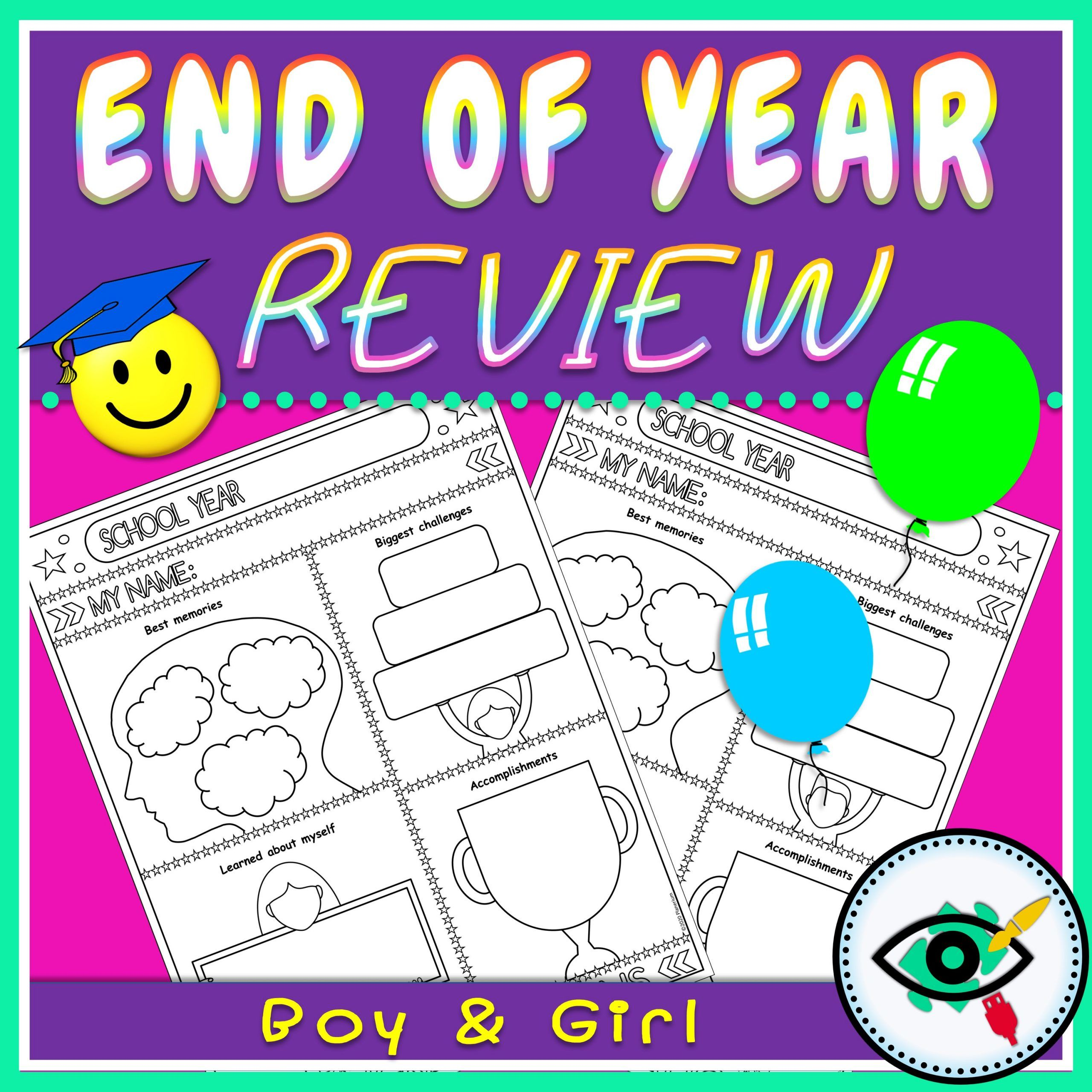 End of Year - Review Page - Title