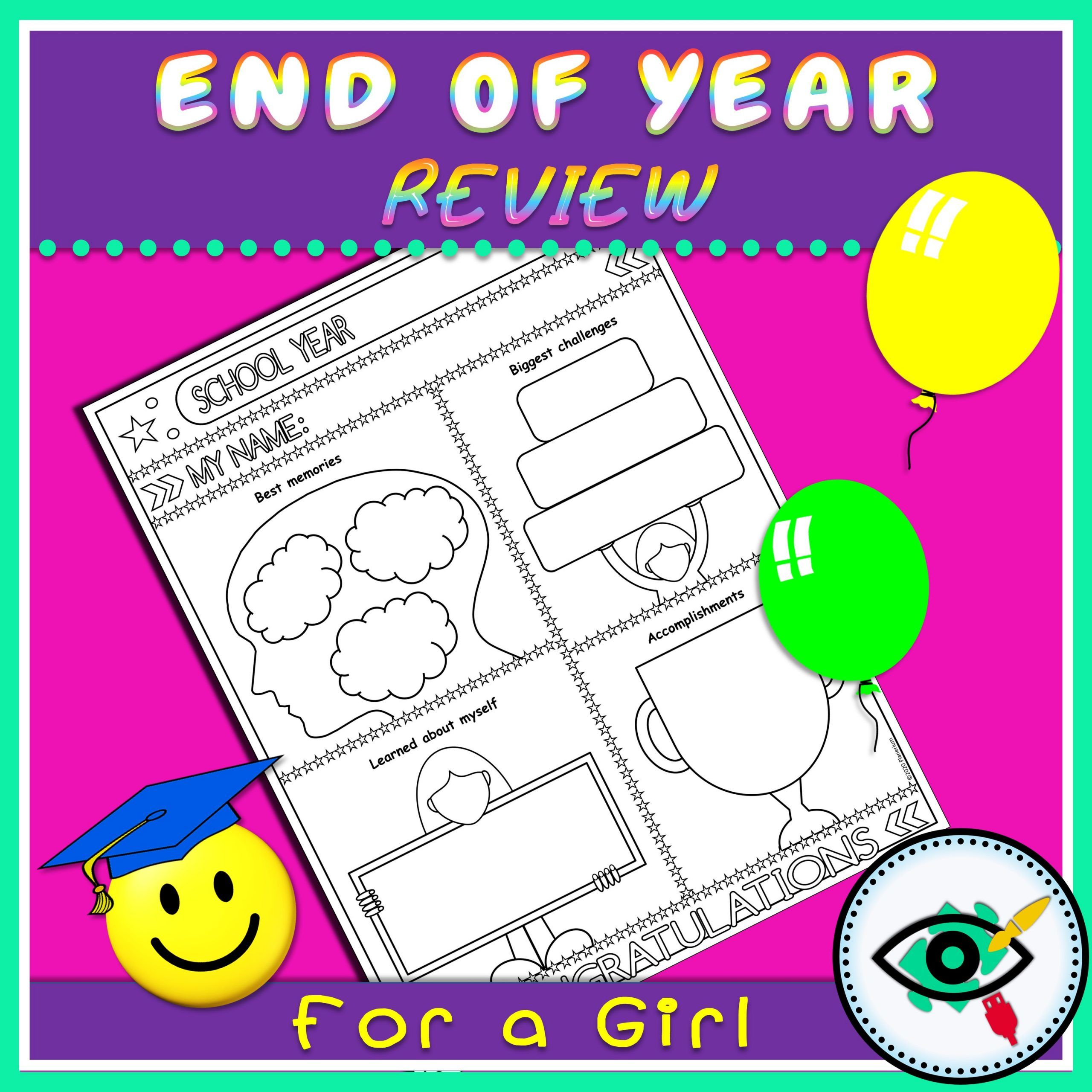 End of Year - Review Page - Title 2