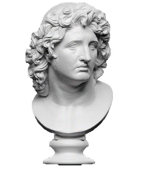 Hanukkah - Alexander The Great Sculpture   Planerium