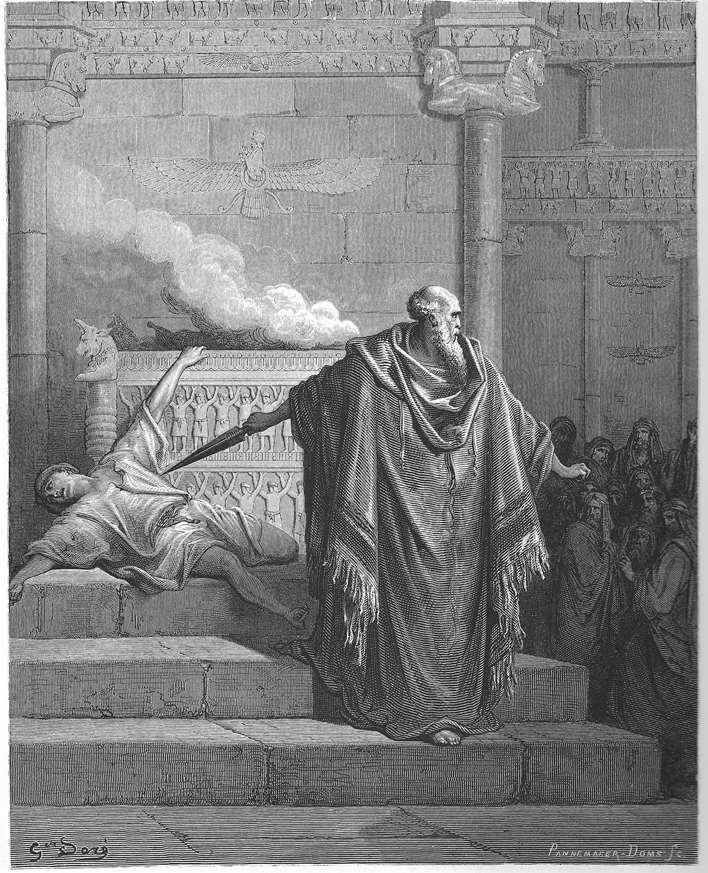 Mattathias and the apostate
