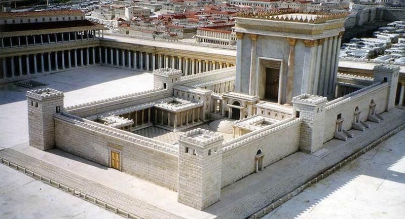 The Second Jerusalem Temple Model - Taken by Larry Koester