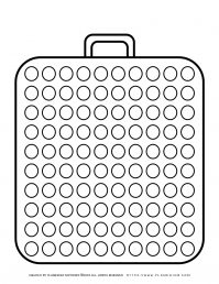 Templates - Big Suitcase With a Hundred Circles   Planerium