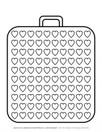 Templates - Big Suitcase With a Hundred Hearts   Planerium