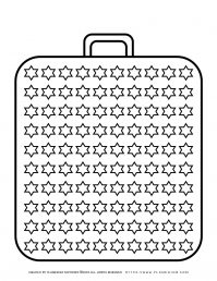 Templates - Big Suitcase With a Hundred Stars   Planerium