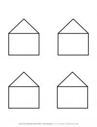 Templates - Four Houses Outline   Planerium