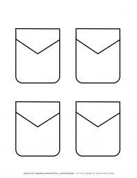 Templates - Four Pockets   Planerium