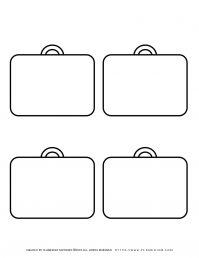 Templates - Four Suitcases   Planerium